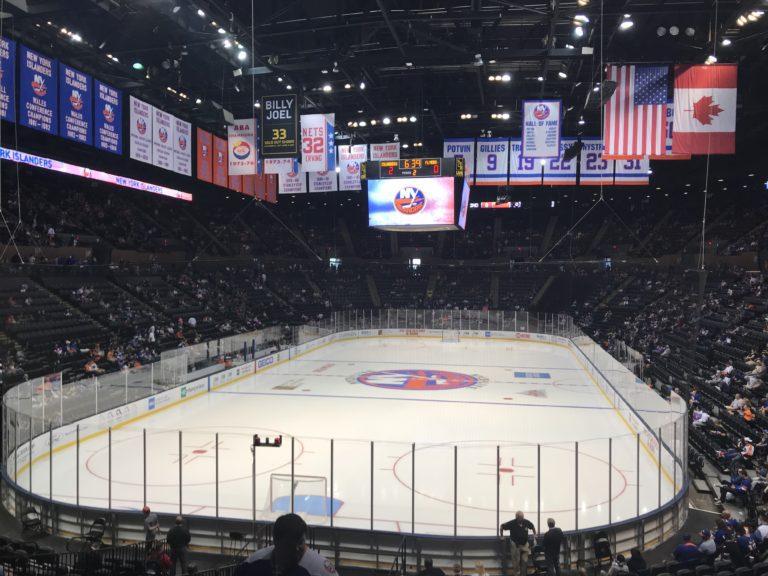 Islanders Nassau Coliseum