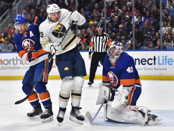 Buffalo Sabres Sam Reinhart New York Islanders Josh Bailey Semyon Varlamov