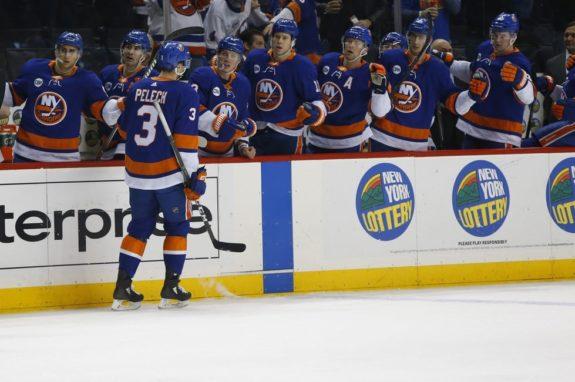 New York Islanders bench Adam Pelech