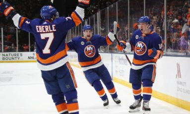 Islanders' 3 Stars of the Week: Dec. 9-15