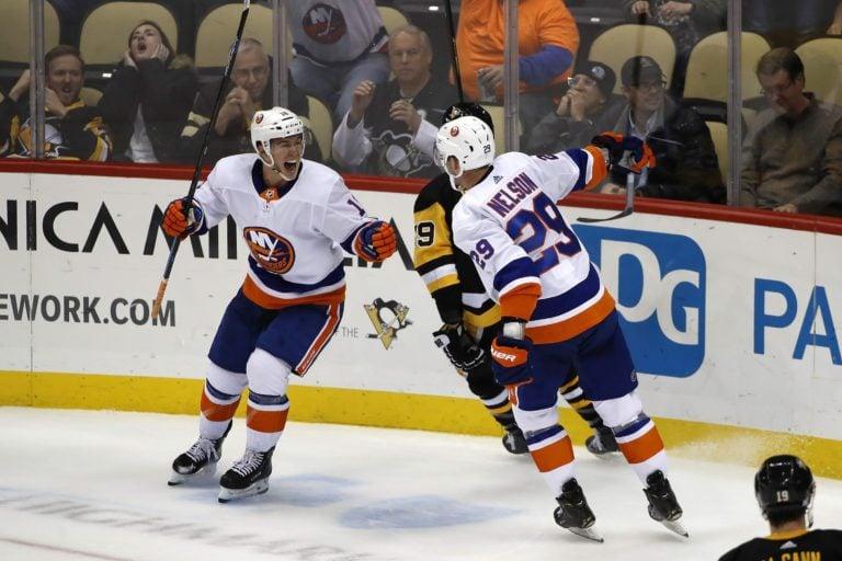 New York Islanders Brock Nelson Anthony Beauvillier