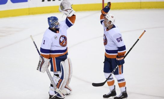 Islanders Top Capitals in Trotz's Return, Grab First Place