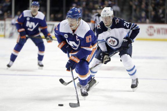 New York Islanders Anders Lee Winnipeg Jets Patrik Laine