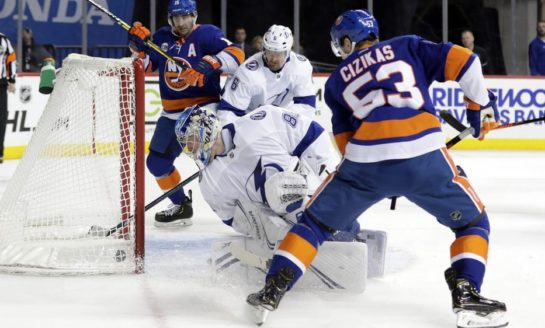 Islanders Beat NHL-Best Lightning