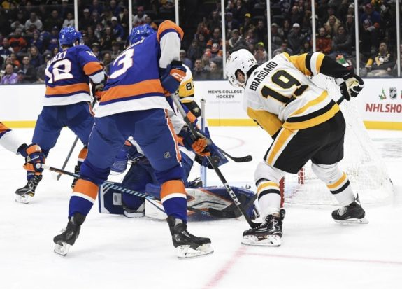 Pittsburgh Penguins Derick Brassard New York Islanders Robin Lehner