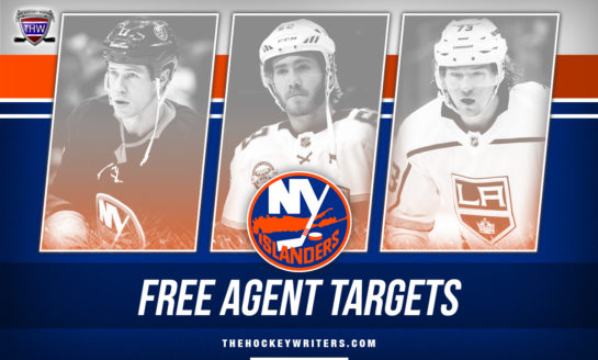 The Islanders Should Target These 6 Free Agents