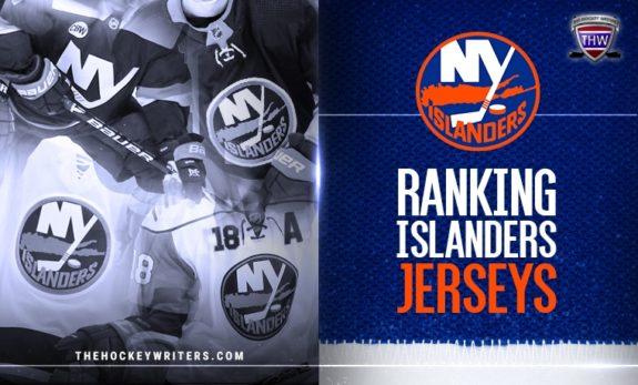Ranking New York Islanders jerseys