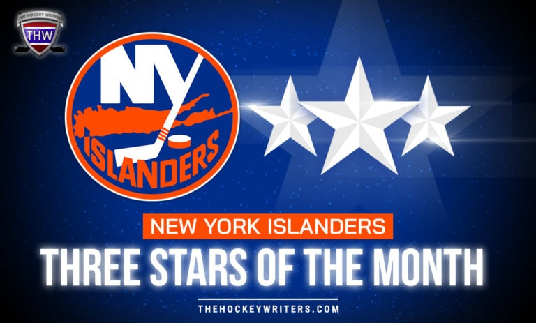 New York Islanders Three Stars of the Month