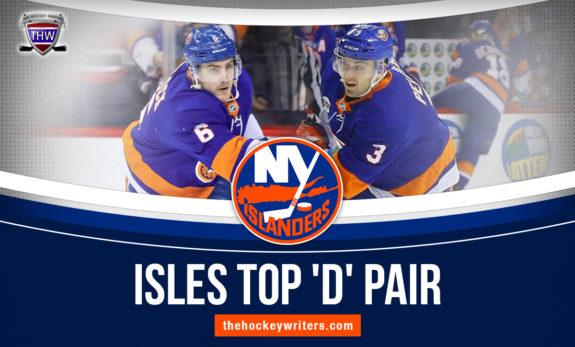 New York Islander Isles Top 'D' Pair Adam Pelech and Ryan Pulock