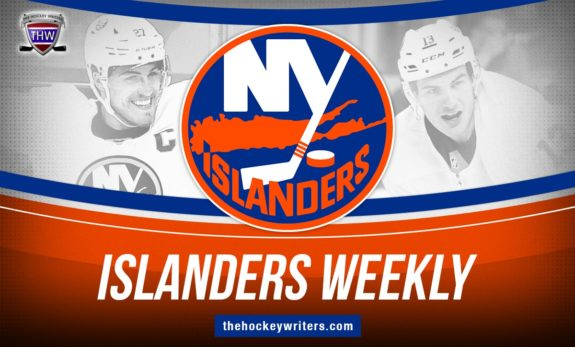 New York Islanders Weekly Matthew Barzal & Anders Lee