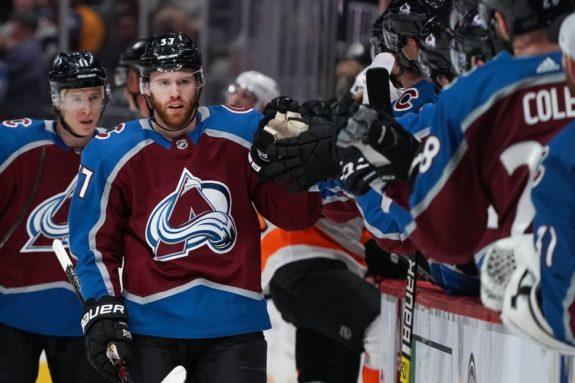 Colorado Avalanche left wing J.T. Compher