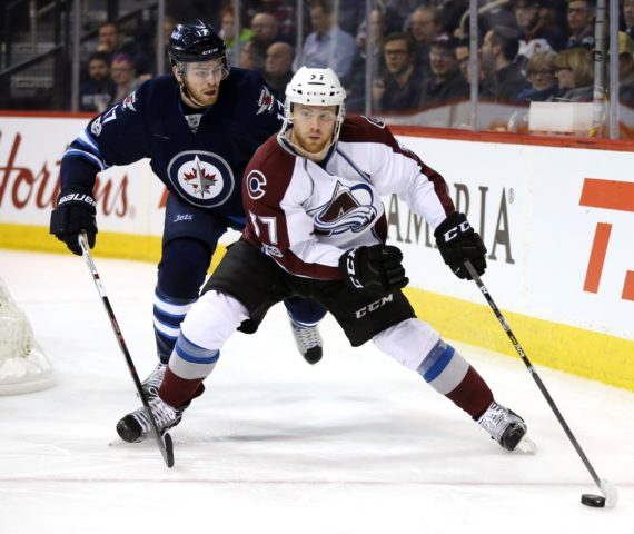 Colorado Avalanche forward J.T. Compher