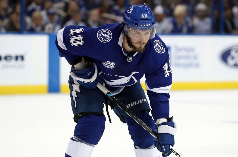 9a3dc6e8d2c Tampa Bay Lightning  JT Miller Enjoying His Time in Tampa After Trade