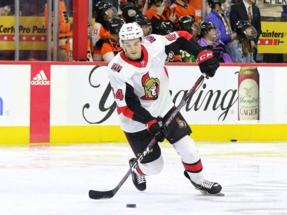 JC Beaudin Ottawa Senators