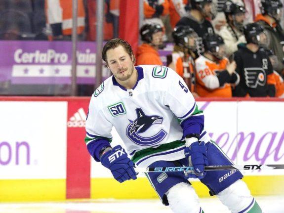 JT Miller Vancouver Canucks