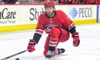 Hurricanes Rally to Beat Lightning in Overtime