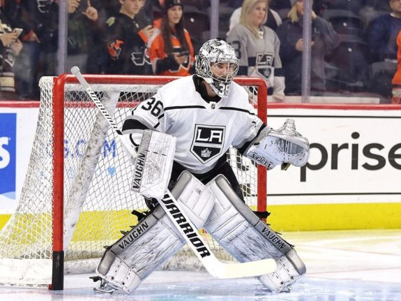 Jack Campbell Los Angeles Kings