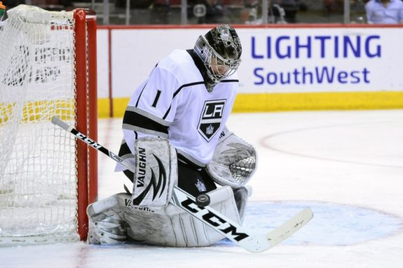 Kings goalie Jack Campbell