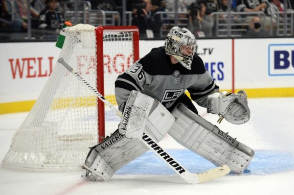 Jack Campbell LA Kings