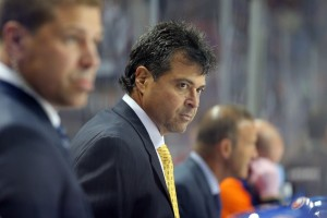 Capuano is in his sixth season as Islanders head coach.(Brad Penner-USA TODAY Sports)
