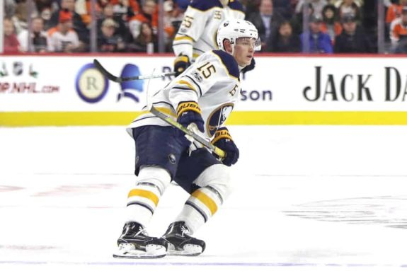 reputable site 03d53 a31f6 Jack Eichel on Fire as the Winter Classic Arrives