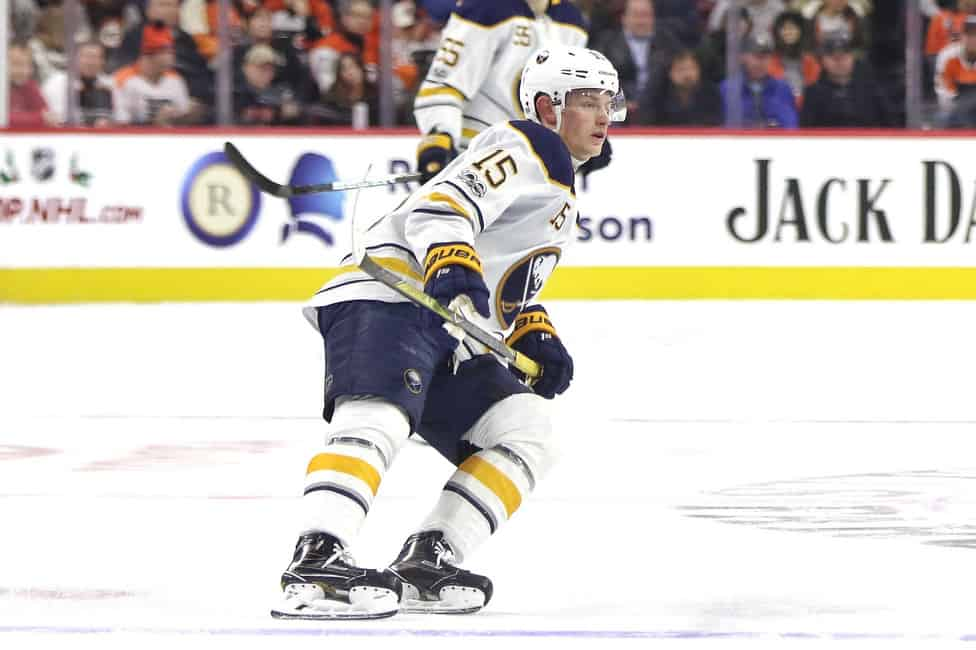 Buffalo Sabres Jack Eichel Playing the Numbers Game bc9e2e8d2