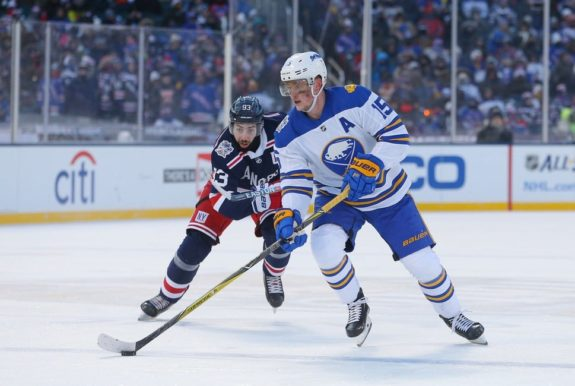 Buffalo Sabres center Jack Eichel