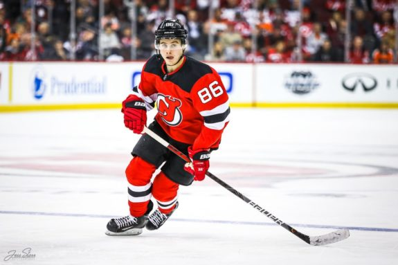 Jack Hughes New Jersey Devils