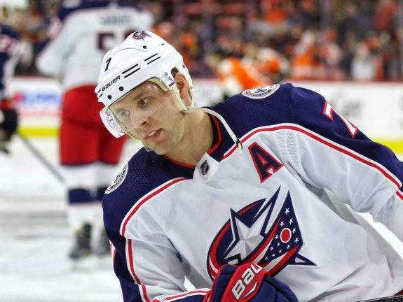 Jack Johnson Blue Jackets