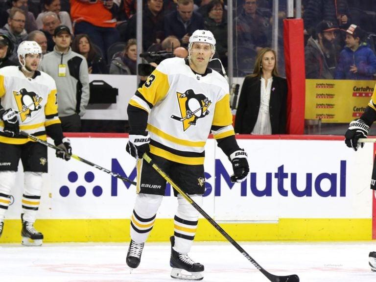 Jack Johnson Pittsburgh Penguins