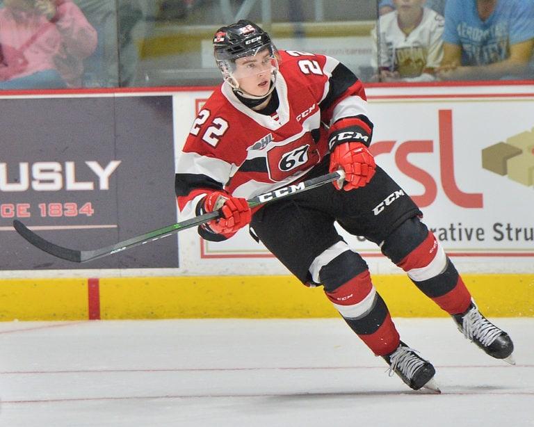 Jack Quinn Ottawa 67's