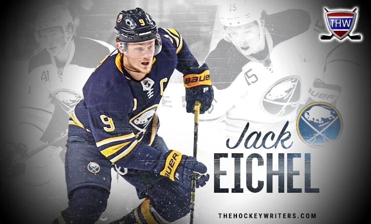 Jack Eichel Buffalo Sabres Evolution