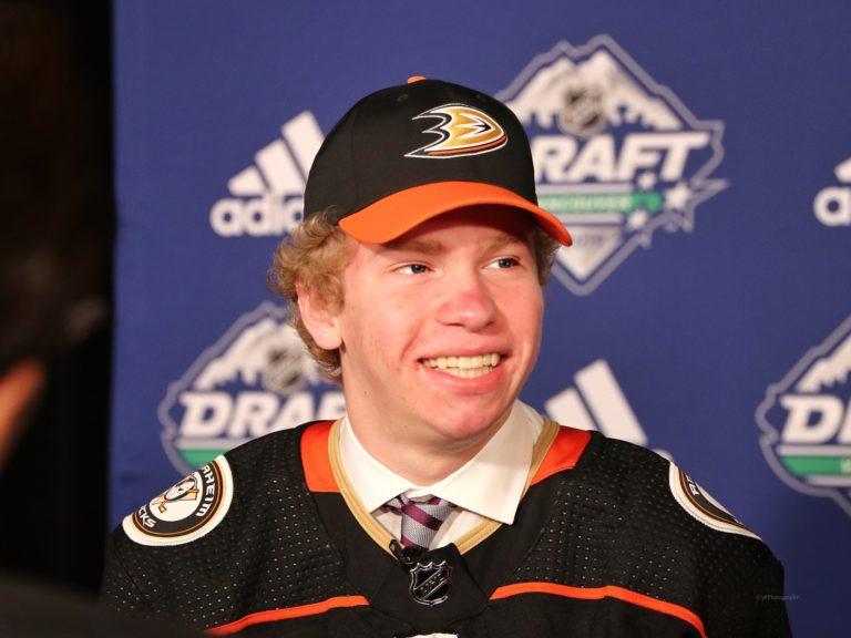 Jackson Lacombe Anaheim Ducks Draft