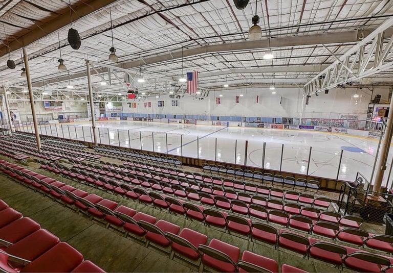 Jacksonville Ice Sportsplex interior
