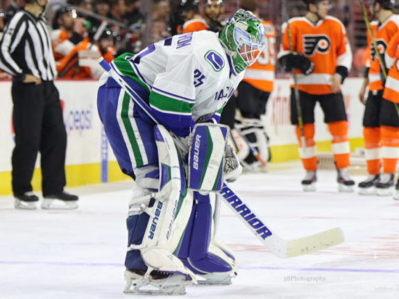Jacob Markstrom, Vancouver Canucks, Fantasy Hockey