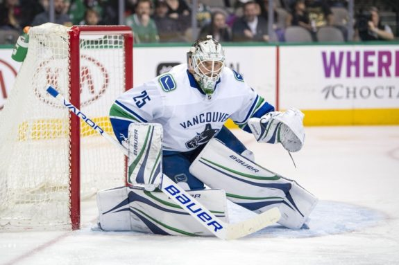Canucks goalie Jacob Markstrom