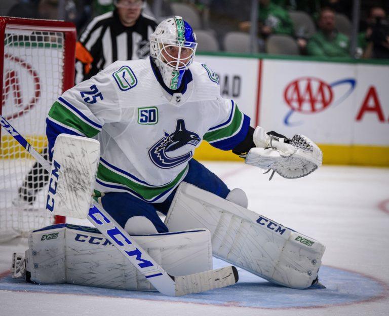 Jacob Markstrom Vancouver Canucks
