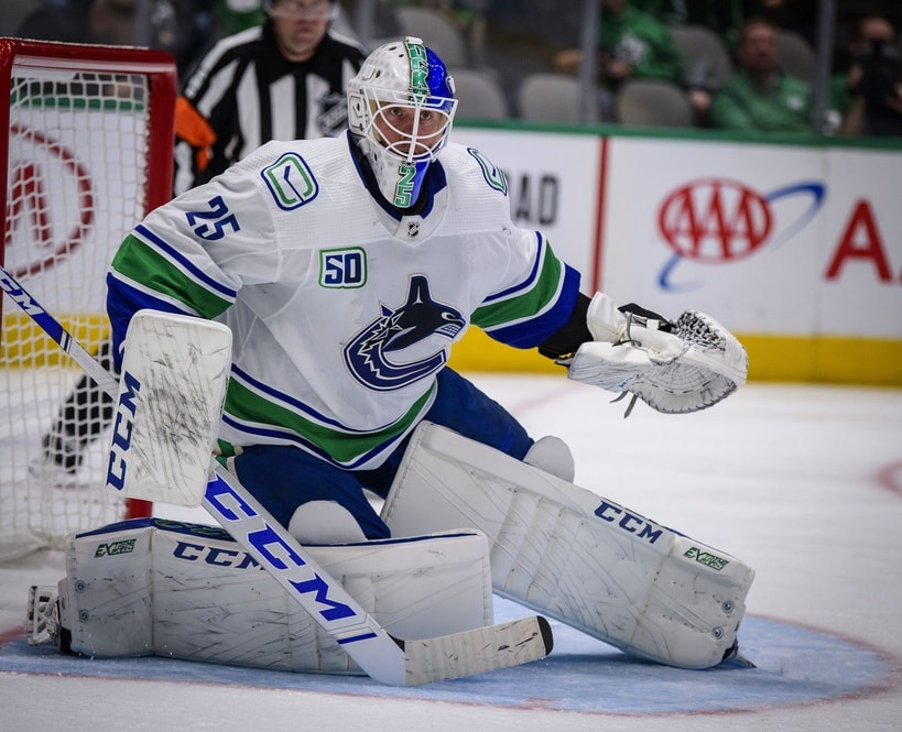 Jacob Markstrom S Injury Spells Trouble For Vancouver Canucks