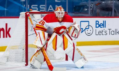 Flames' Markstrom Dominant in Shutout Win Against Canucks