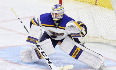 Jake Allen to Start in Goal for Blues vs. Sharks Game 5