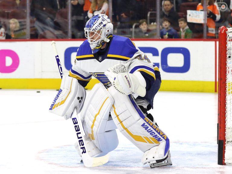 Jake Allen St. Louis Blues