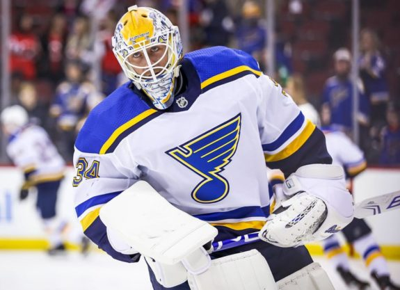 Jake Allen St. Louis Blues