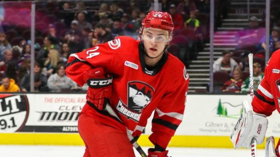 Jake Bean Charlotte Checkers