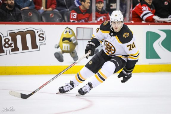Jake DeBrusk Boston Bruins