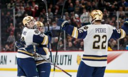 Andrew Peeke Ready to Lead Notre Dame