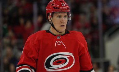 Hurricanes Face Tough Decisions With Bursting Blue Line
