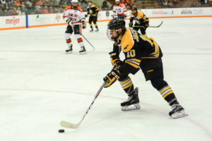 Michigan Tech forward Jake Jackson. Photo: Michigan Tech Athletics
