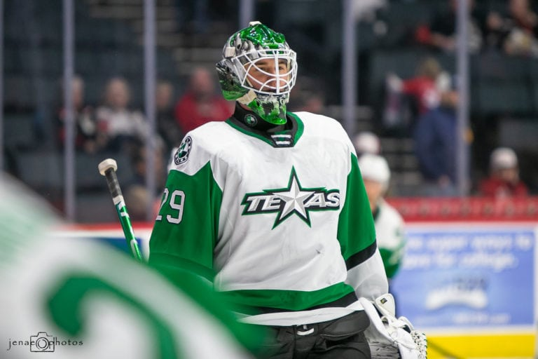 Jake Oettinger Texas Stars