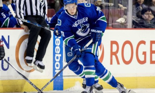 Canucks' Virtanen Is Due for Breakout Season