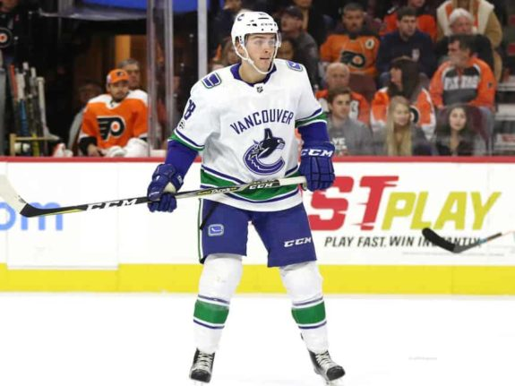 Jake Virtanen Canucks